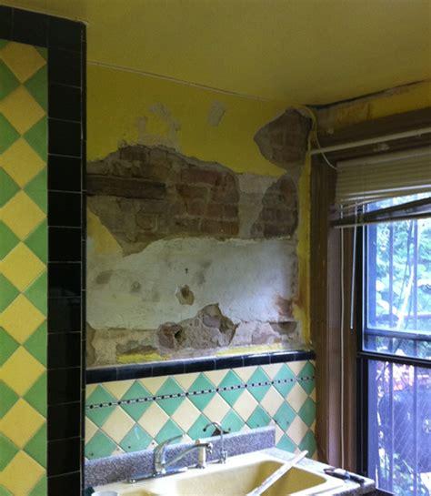 sealing   seal  paint  rough plaster  brick