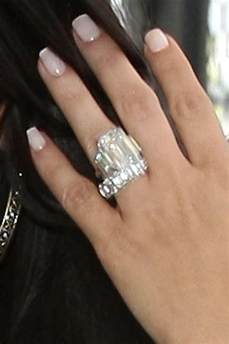 Kim Kardashian's Wedding Ring: All The Details ...