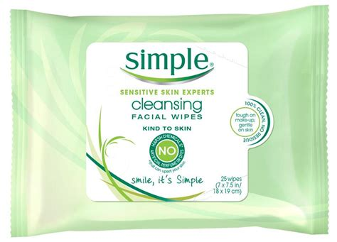 Amazon.com: Simple Cleansing Facial Wipes 1 DS(Pack of 2