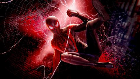 miles morales spider man ps  hd games wallpapers hd