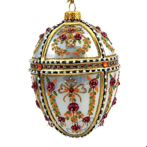 faberge style egg ornaments