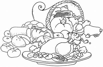 Coloring Pages Thanksgiving Printable October Sheet Pyramid