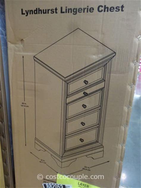 universal furniture lyndhurst lingerie chest