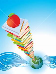 Global Education. Vector Background