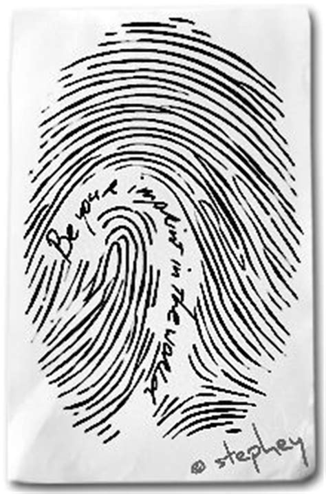 Finger print with the words.... Something for my daughters