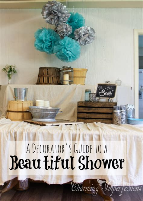 a decorator s guide to a beautiful shower the top pinned