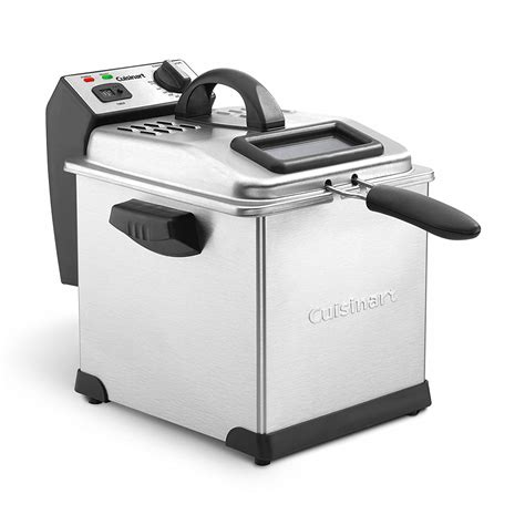 fryer cuisinart deep cdf quart stainless steel fryers amazon qt shipping digital fast sonoma walmart genuine air compact kitchen electric
