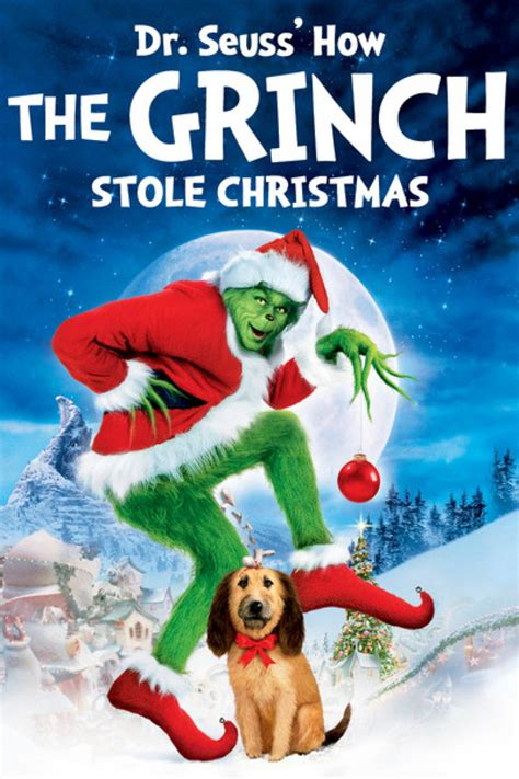 dr seuss s how the grinch stole christmas family movie