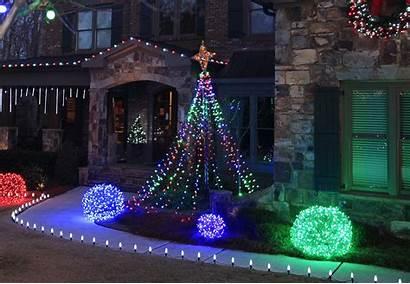 Christmas Outdoor Yard Decorating Diy Decoration Lights