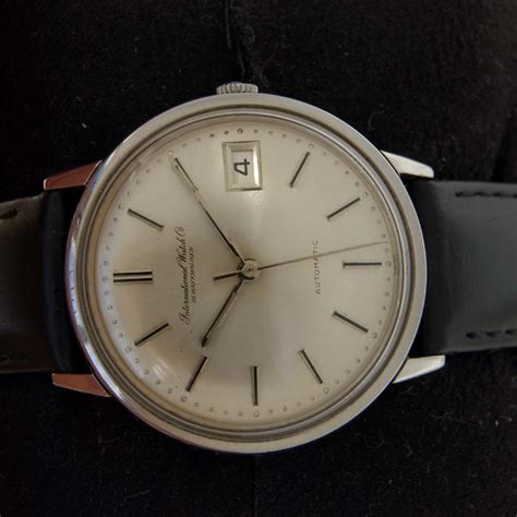 1960's International Watch Co Schaffhausen Automatic