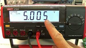 Review: UNI-T UT803 TRMS bench multimeter with PC data ...