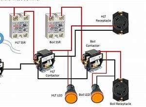 Wiring Diagram For 230 Volt Outlet