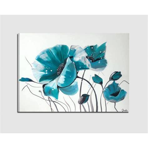 quadri con i fiori quadri dipinti a mano su tela con rappresentazione di fiori