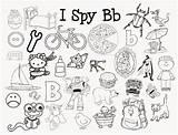 Spy Coloring Sound Letter Preschool Letters Sounds Activities Kindergarten Alphabet Mom Printables Cooties Beginning Games Learning Printable Literacy Getdrawings Ispy sketch template