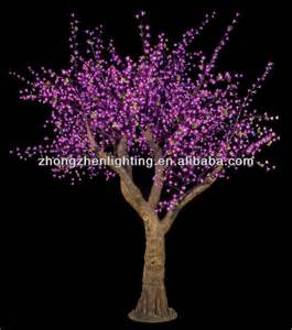 artificial flower outdoor lights artificial trees cherry blossoms faked tree trunk led lighting