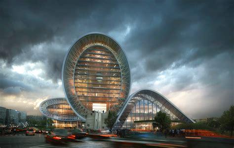 house designer plans luminous moon gate form4 architecture arch2o com