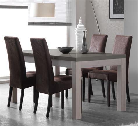 table salle a manger gris laque table salle a manger gris laque maison design hosnya
