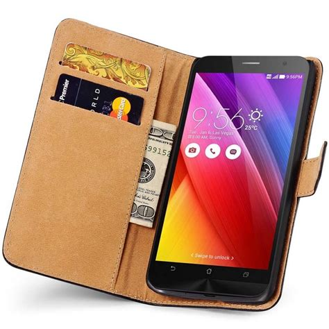 aliexpress buy zen fone 2 wallet genuine for asus zenfone 2 5 5 ze551ml