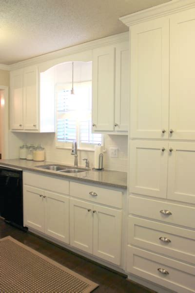 Pantry Sink Kitchen Before And After Moldings Pantry And Sinks