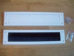 letter box internal cover brush seal draught excluder With interior letter box cover