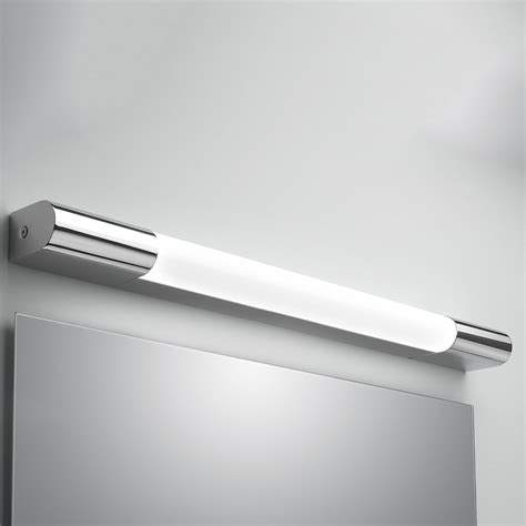 astro palermo 600 polished chrome bathroom wall light with