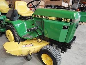 1988 John Deere 318 Lawn  U0026 Garden And Commercial Mowing