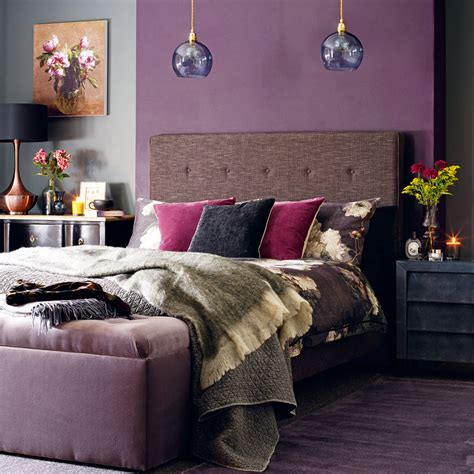 purple home decor bedroom decor trends to embrace in 2018 ideal home