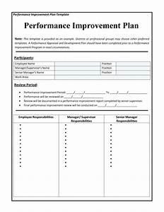40 performance improvement plan templates examples With student improvement plan template