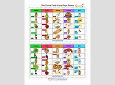Make Your Chef Solus Food Bingo Game