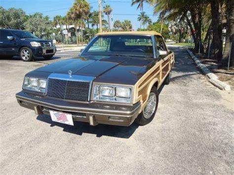 84 Chrysler Lebaron by Find Used 84 Chrysler Lebaron Convertible 41k Orig One