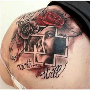 Name Style Designs 23 Amazing Rammstein Fan Tattoos Nsf Music Station