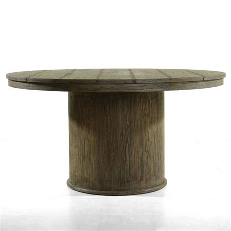 round wood dining room table furniture awesome reclaimed wood round dining table