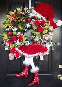 Hunting Horn Christmas Wreath Holiday Door by Stoneponies