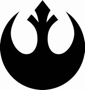 Star Wars Rebel Alliance Symbol | Logos | Pinterest