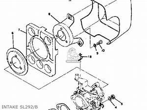 yamaha sl292 1971 1973 parts list partsmanual partsfiche With yamaha snowmobile parts 1971 sl292 grip wiring sl292 b c diagram