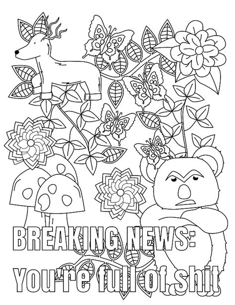 14 free coloring pages coloring pages swear word