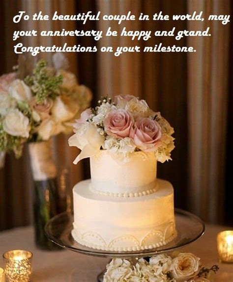 happy wedding anniversary wishes cake images  wishes