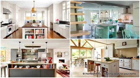 open kitchen designs with island 18 neat ergonomic kitchen islands designs featuring open