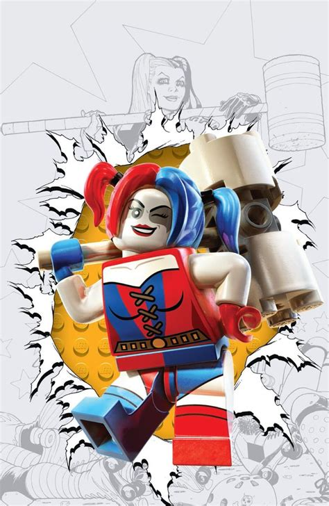 announcing dc comics lego themed covers arriving