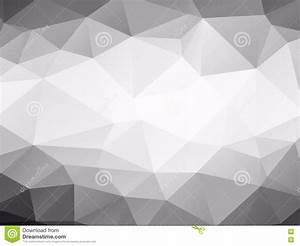 Triangles Background Black And White Stock Vector - Image ...