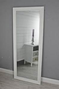 Standspiegel Antik Weiß : spiegel wei landhaus 150x60cm holz wandspiegel barock badspiegel standspiegel ~ Indierocktalk.com Haus und Dekorationen