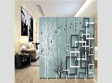 180*40cm*6pcs Hanging Screen Wall Decoration Hangings Room