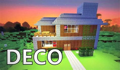 comment faire une maison moderne minecraft minecraft comment cr 233 er une maison