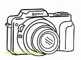 Camera Coloring Compact Printable Sheet Getcolorings Hello Coloringsky Sky sketch template