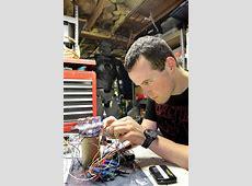 Maine man building hightech Iron Man costume The