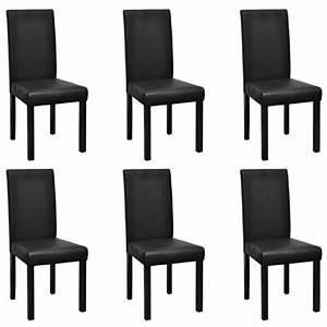 Stühle Esszimmer Schwarz : nur st hle esszimmer 6 st ck schwarz ~ Michelbontemps.com Haus und Dekorationen