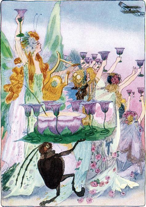 fairy party illustration  graphics fairy