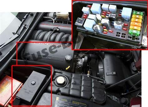 C5 Corvette Passenger Fuse Diagram by Chevrolet Corvette C5 1997 2004