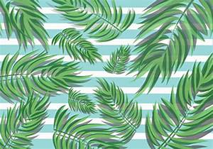 Tropical Palm Leaves - Download Free Vector Art, Stock ...