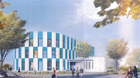 siege banque populaire occitane un nouveau siège pour la banque populaire atlantique à